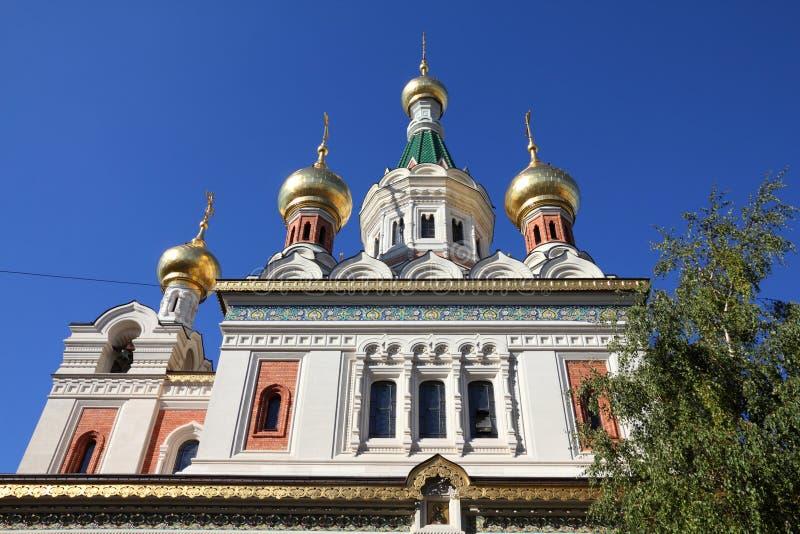 Vienna - chiesa ortodossa fotografie stock libere da diritti