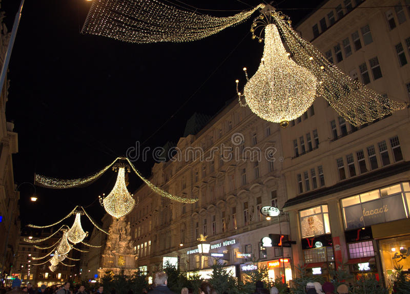 Good Download Vienna Christmas Decoration Editorial Stock Image   Image Of  Sightseeing, Seasonal: 49432734