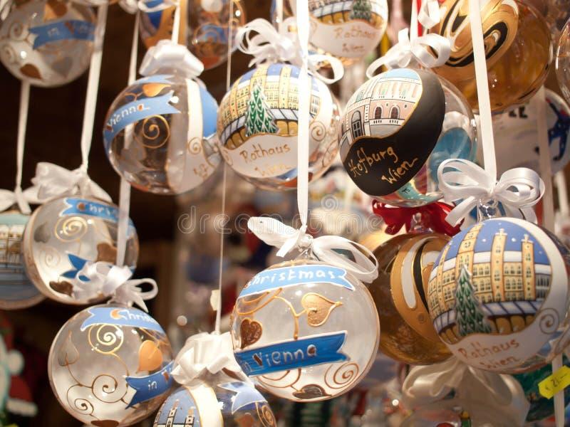 Vienna Christmas Market Souvenir stock photos