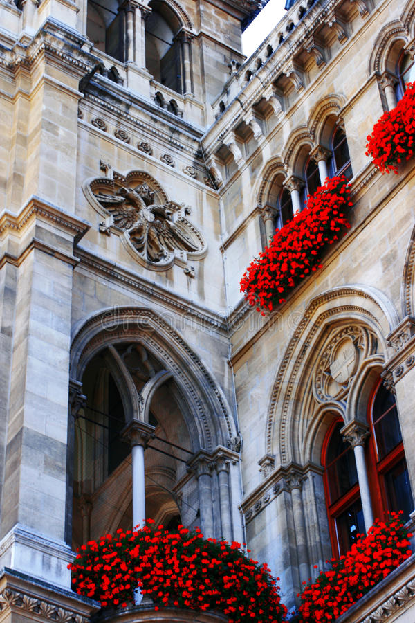Vienna city hall - angle