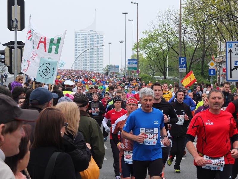 Vienna City Marathon stock photos