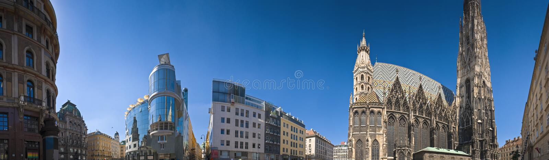 Vienna Cityscape royalty free stock photography