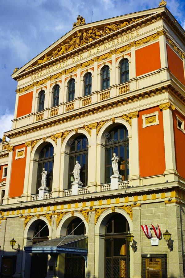 Vienna concert hall royalty free stock photos