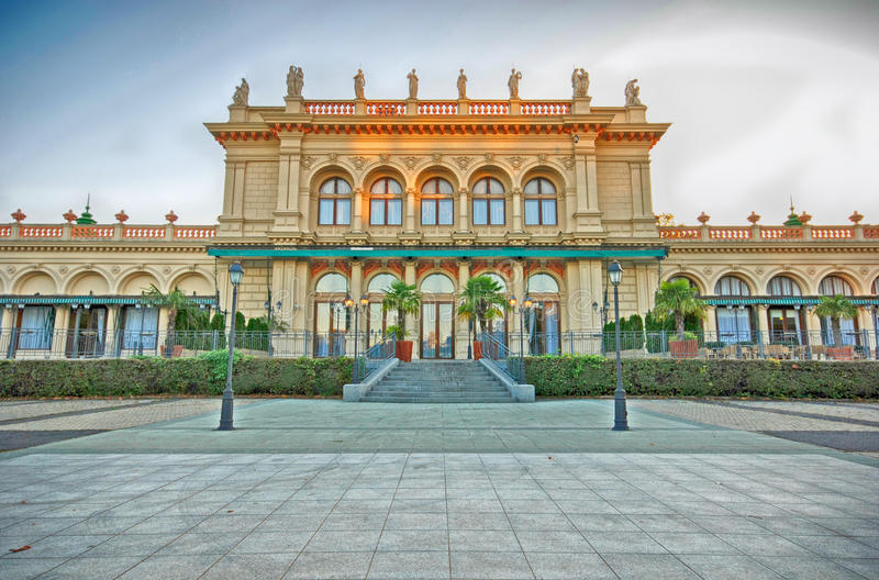 Vienna Kursalon. The Kursalon is one of the most beautiful concert venues in the heart of Vienna, Austria. The Strauss celebrated his greatest successes in this stock photography