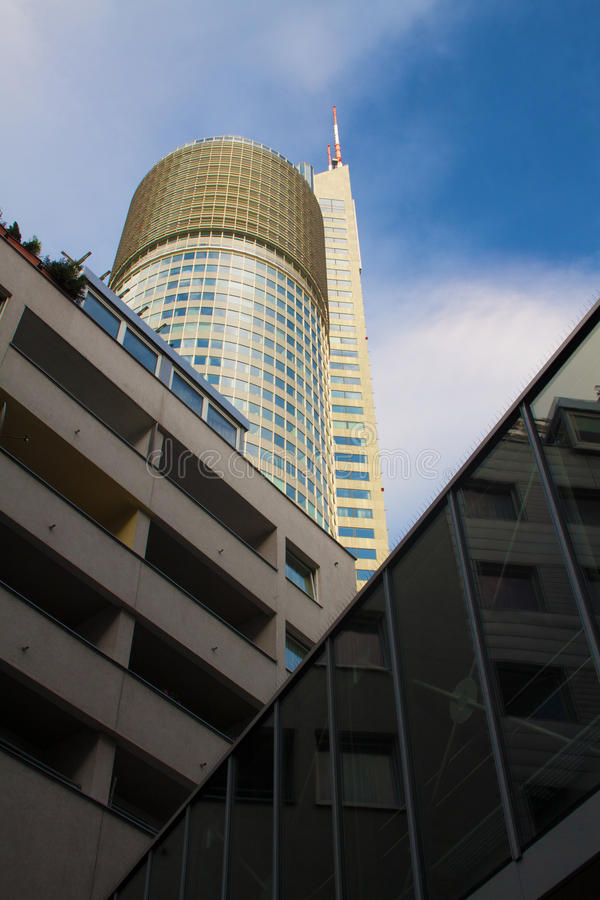 Download Vienna-Millenium tower stock photo. Image of commercial - 20964582