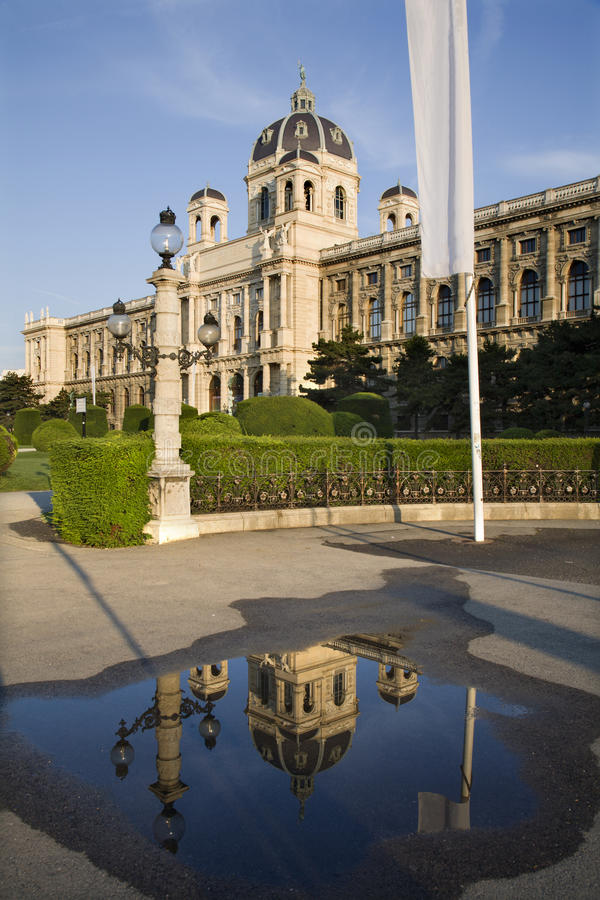 Vienna - Museum Of History Of Nature Stock Photos