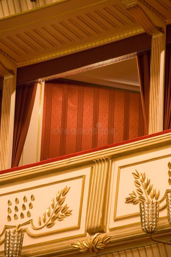 Vienna Opera Box stock photos