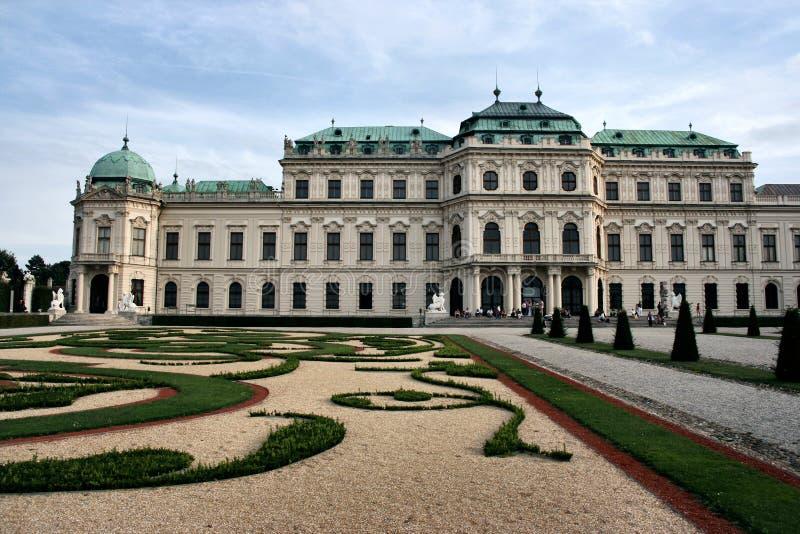 Vienna palace stock photos