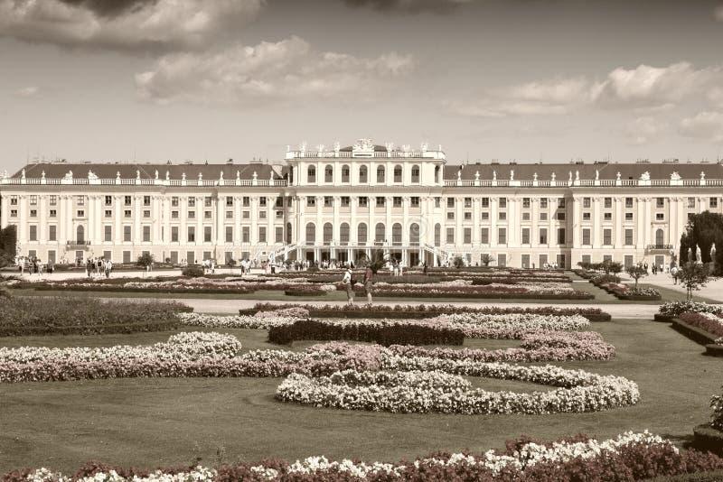 Vienna palace royalty free stock photography