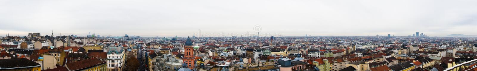 Download Vienna panoram stock photo. Image of sightview, tourism - 30612420