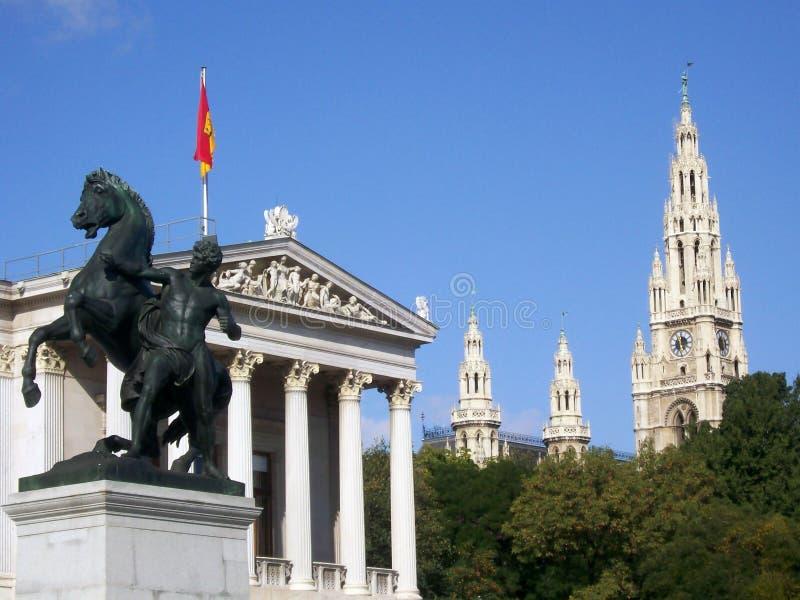 Vienna's scenary royalty free stock photography