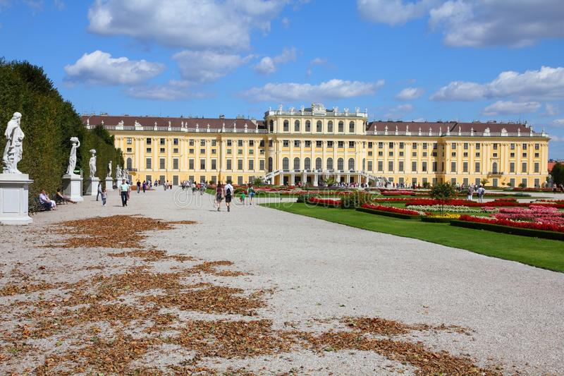 Vienna - Schoenbrunn stock photo