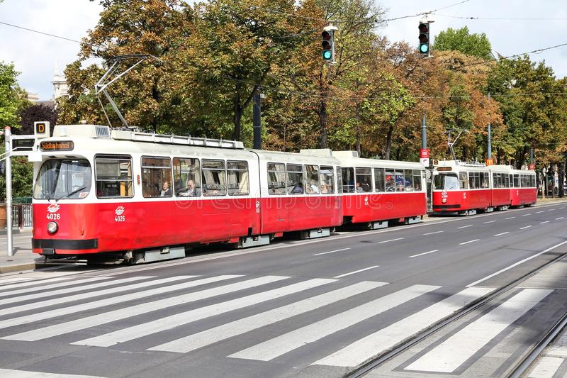 Vienna transport stock photography