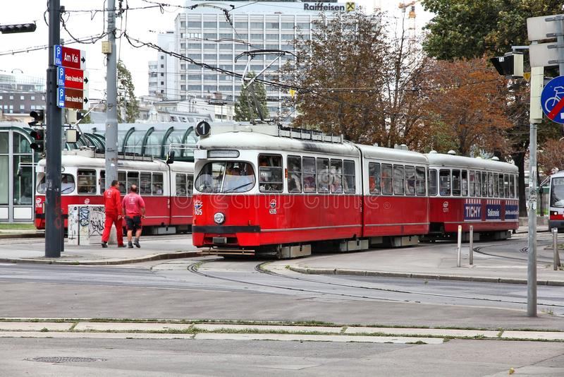 Vienna public transport stock images