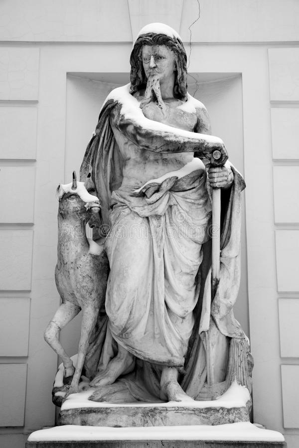 Download Vienna- Statue Of River Inn Stock Photo - Image: 13127308
