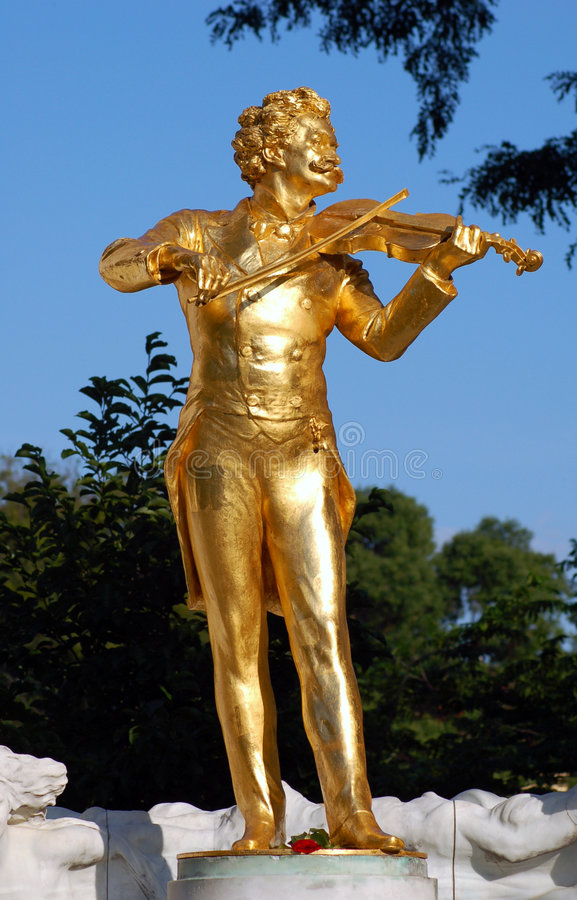 Free Vienna: Strauss Statue Stock Images - 2657244
