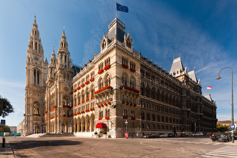 Download Vienna Town Hall Stock Photography - Image: 22885412