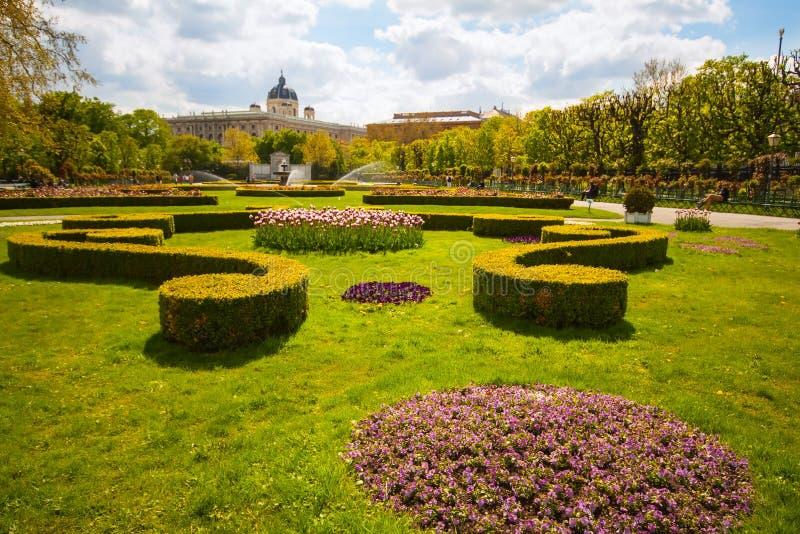 vienna volksgarten obraz royalty free