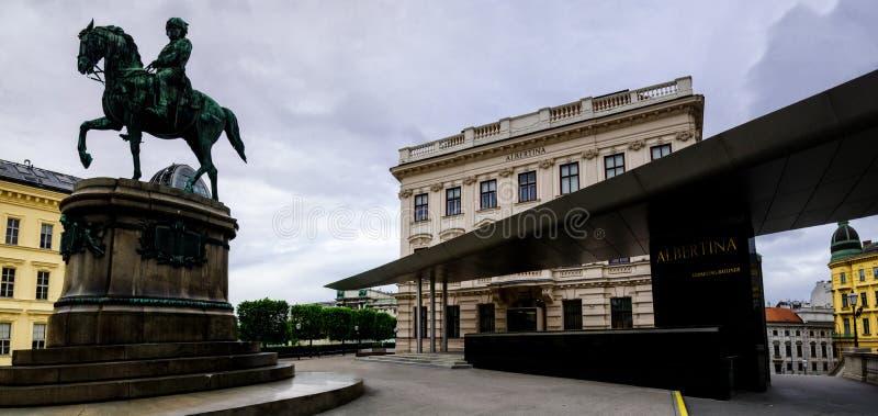 Vienne, Albertina Museum image libre de droits