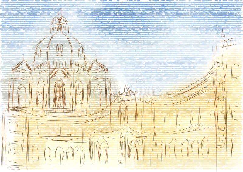 Vienne Autriche illustration stock