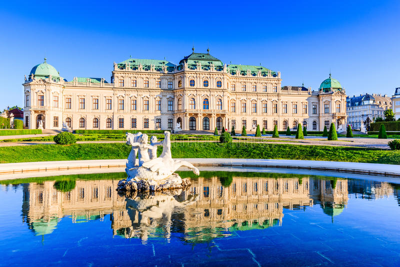 Vienne, Autriche images libres de droits