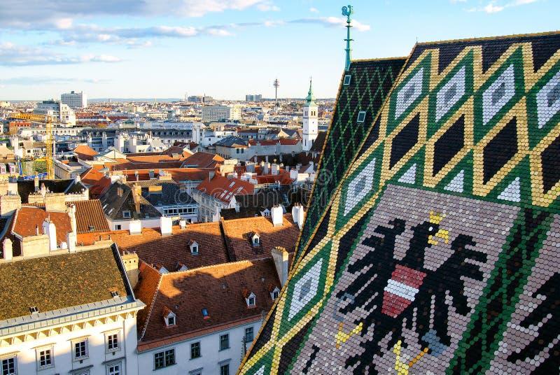 VIENNE, AUTRICHE, cathédrale de StStephan image libre de droits