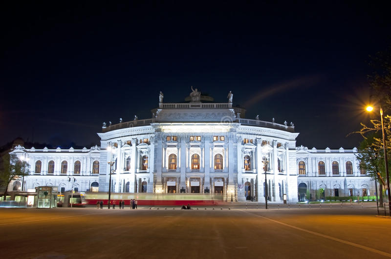 Vienne Hofburgtheater photos stock
