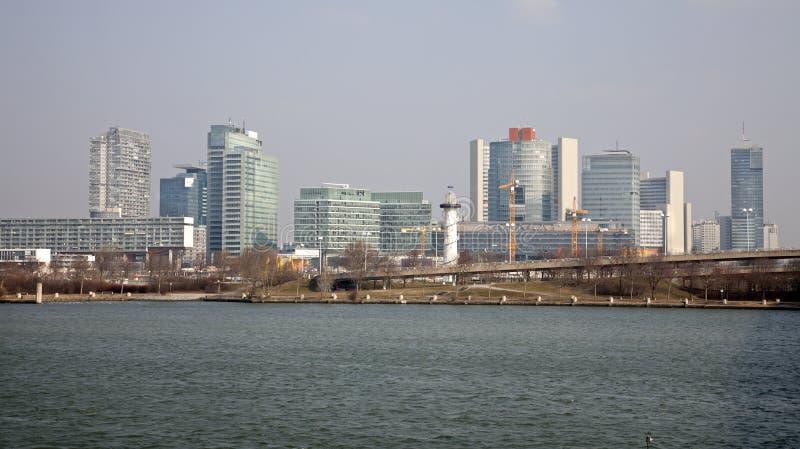 Vienne - ville de l'ONU image stock