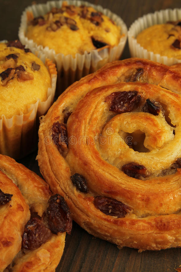 Download Viennese pastry stock photo. Image of closeup, baked - 27367752