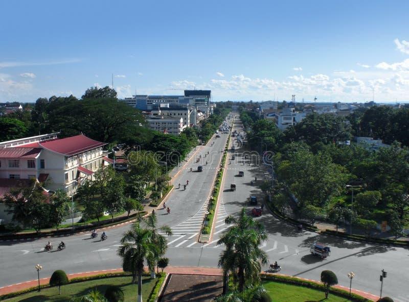Vientiane στο Λάος στοκ φωτογραφία