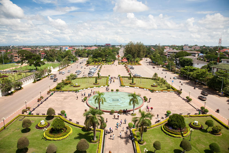 Download Vientiane, Capital Of Laos. Stock Image - Image: 17423165