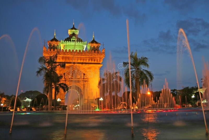 Vientiane-Denkmal lizenzfreie stockfotos