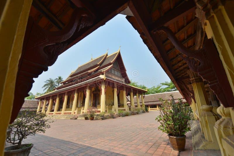 Vientiane, Laos fotografia stock
