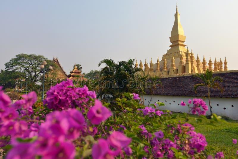 Vientiane, Laos. Pha That Luang, Vientiane, Laos stock photography