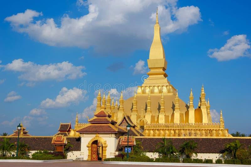 Vientiane, Pha che Luang immagini stock
