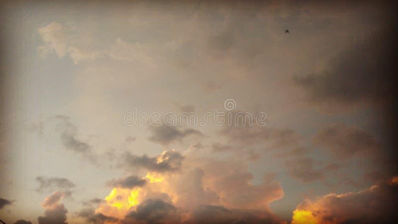 Viento al aire libre del cielo de la naturaleza fotografía de archivo libre de regalías