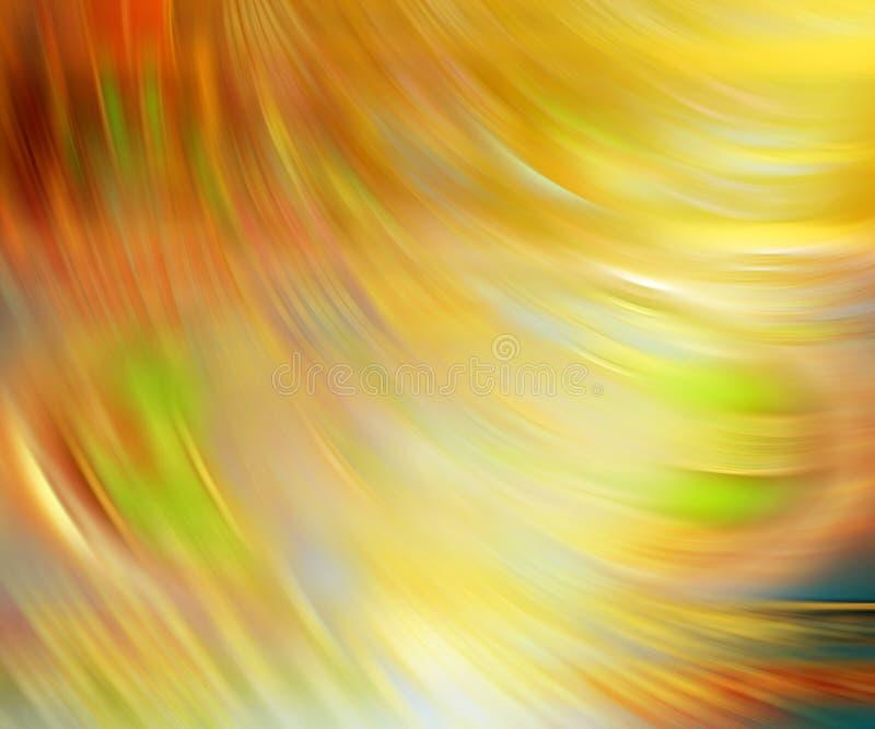 Viento del fondo amarillo de falta de definición de movimiento imagen de archivo libre de regalías