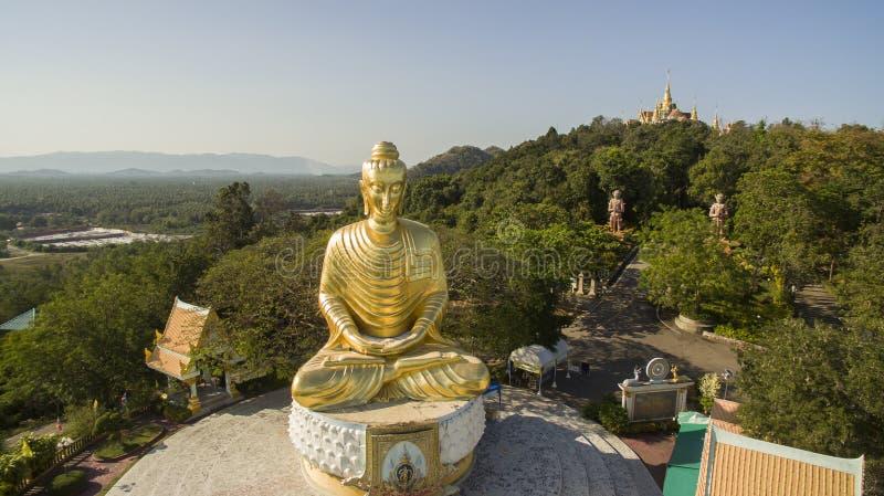 Viento del sur prachaubkhirikhan de la provincia del krood de la prohibición del templo del sai del sabor de Wat imagen de archivo libre de regalías