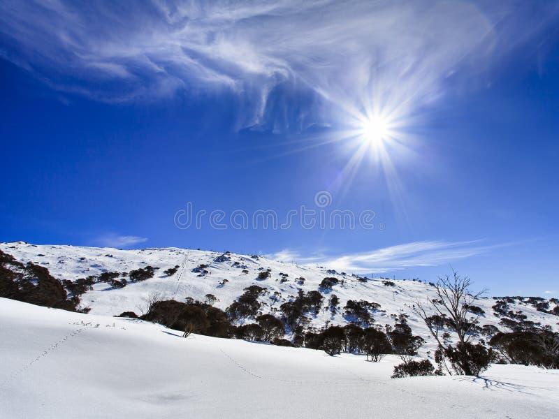 Viento soleado y neblina del SM imagenes de archivo