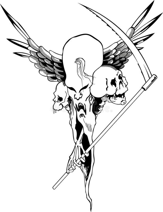 Vientos ilustración del vector