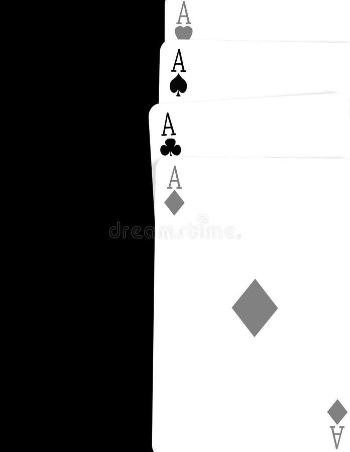 Vier Asse vektor abbildung