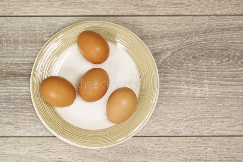 Vier Eieren royalty-vrije stock afbeeldingen