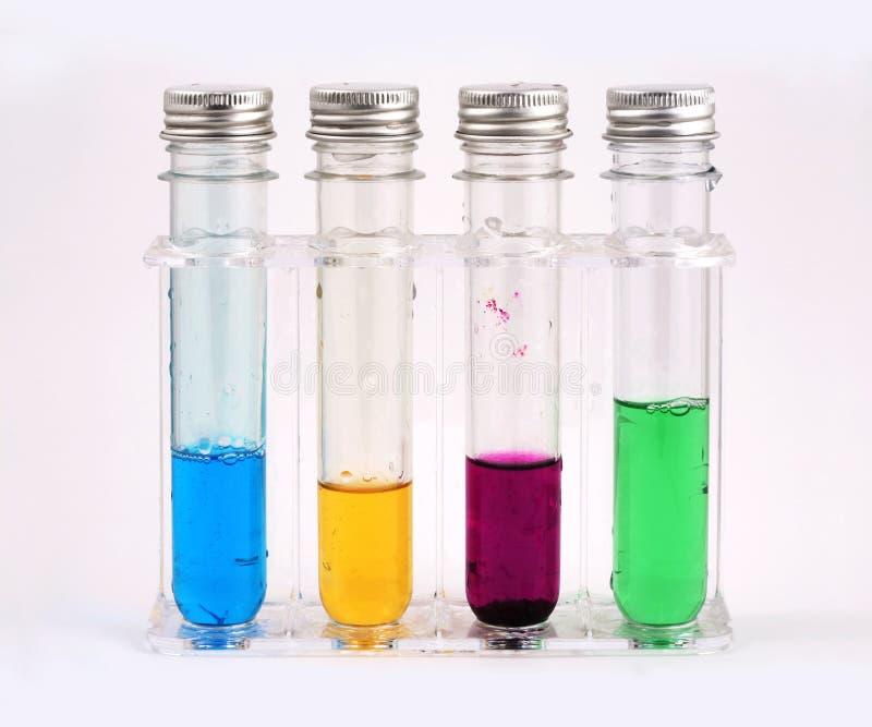 Vier Flaschen lizenzfreies stockfoto