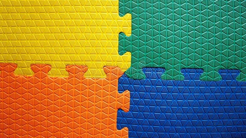 Vier kleuren rubberachtergrond royalty-vrije stock foto's