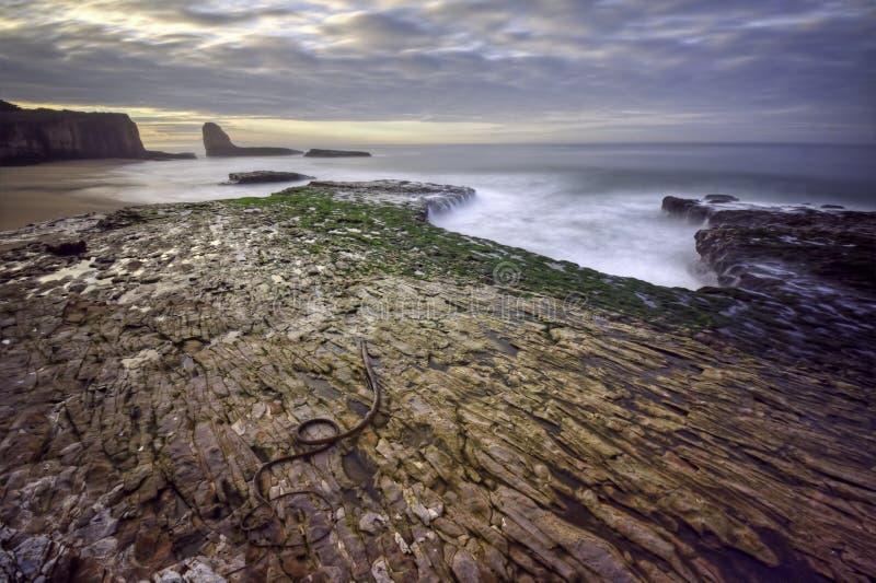 Vier Meilen-Strand stockfotografie