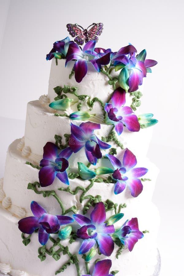 Vier Reihe-Kuchen lizenzfreies stockbild
