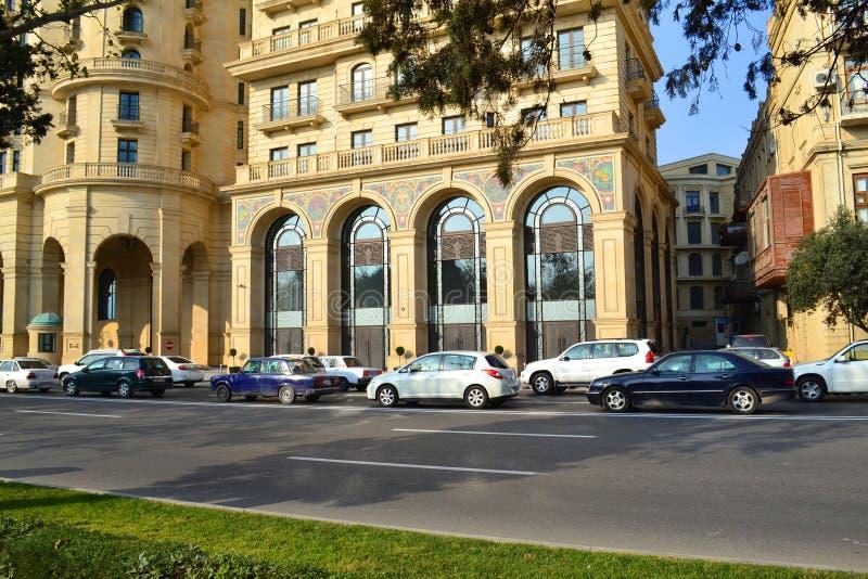 Vier Seizoenenhotel Baku stock foto's