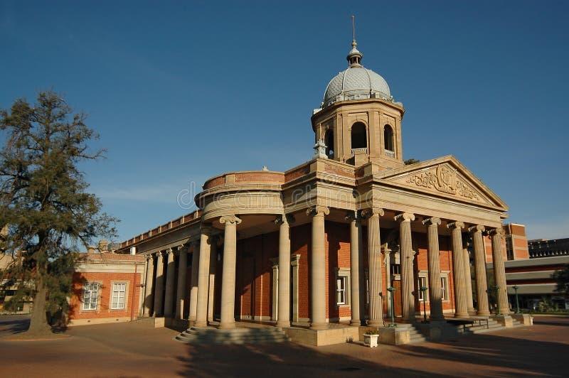 Vierde Raadzaal in Bloemfontein, Zuid-Afrika stock foto