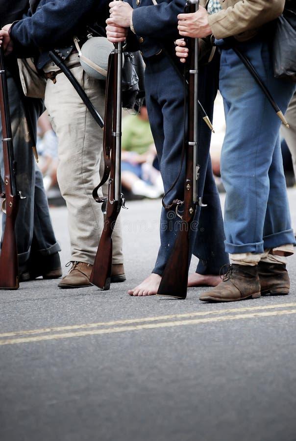 vierde van de Parade van Juli stock foto
