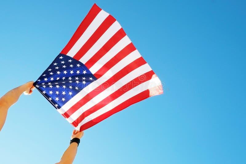 vierde van Juli-de vieringsconcept van de Onafhankelijkheidsdag stock foto